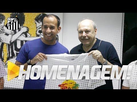 SANTOS FC FAZ HOMENAGEM AO ANIVERSÁRIO DE SANTOS!