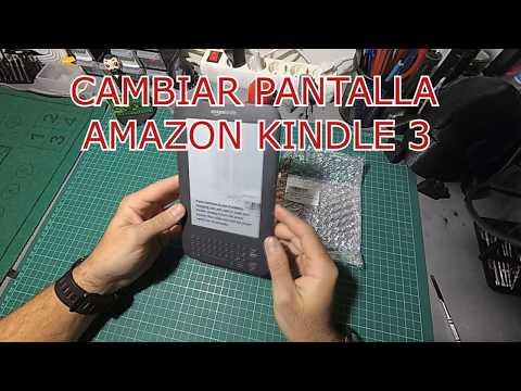 ✅CAMBIO PANTALLA KINDLE 3 AMAZON D00901 //TUTORIAL GRATIS