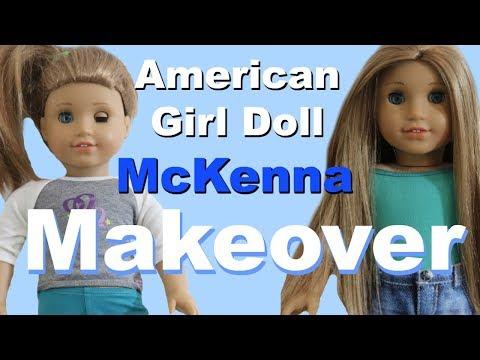 Fixing American Girl Doll McKenna Brooks!