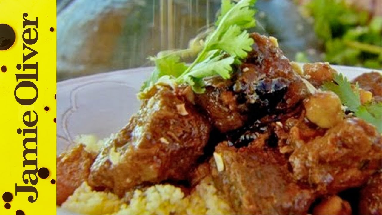 Jamie S Moroccan Beef Tagine Youtube