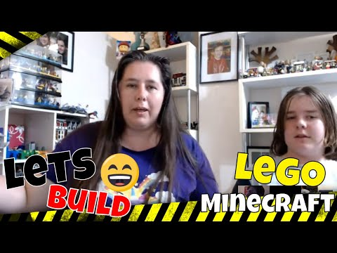 Live Chat and LEGO build Minecraft 21136 The Ocean Monument, Lets finish this!