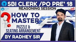 How To Master Puzzle & Seating Arrangement | Radhey sir | Call us 8750016167