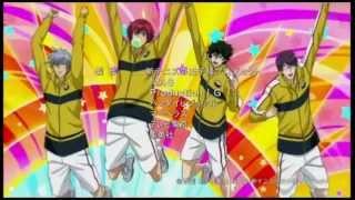 New prince of tennis Ending - Party Time (Rikkai version)