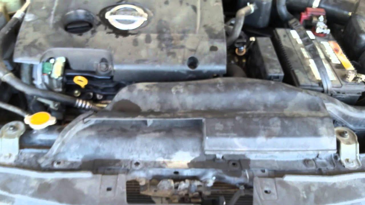 Elegant 2003 Nissan Altima 3.5l V6 Alternator Part 1   YouTube