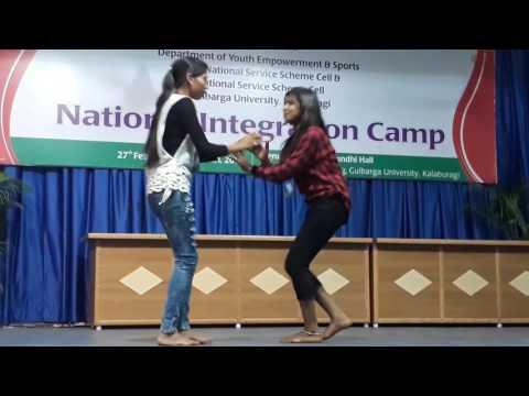 GUK NSS Camp.Hindi song.in guk.(mareppa.c.harawalkar)