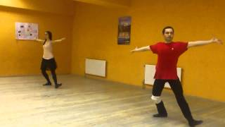 Урок Лезгинки 1)связка!!!