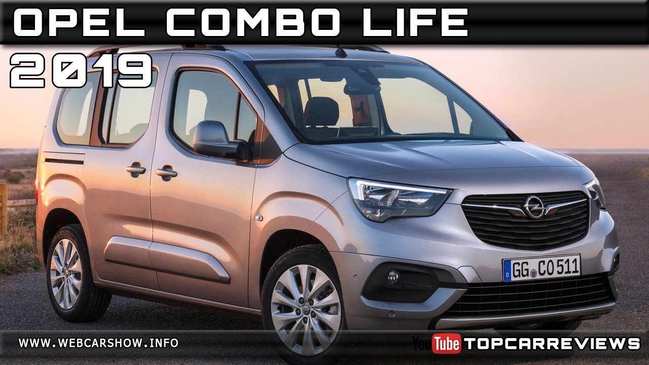 2019 opel combo life review rendered price specs release. Black Bedroom Furniture Sets. Home Design Ideas