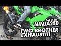 SEHARI GANTI KNALPOT 2X NEW NINJA 2018 | YOSHIMURA R77 & TWO BROTHERS REVIEW Mp3
