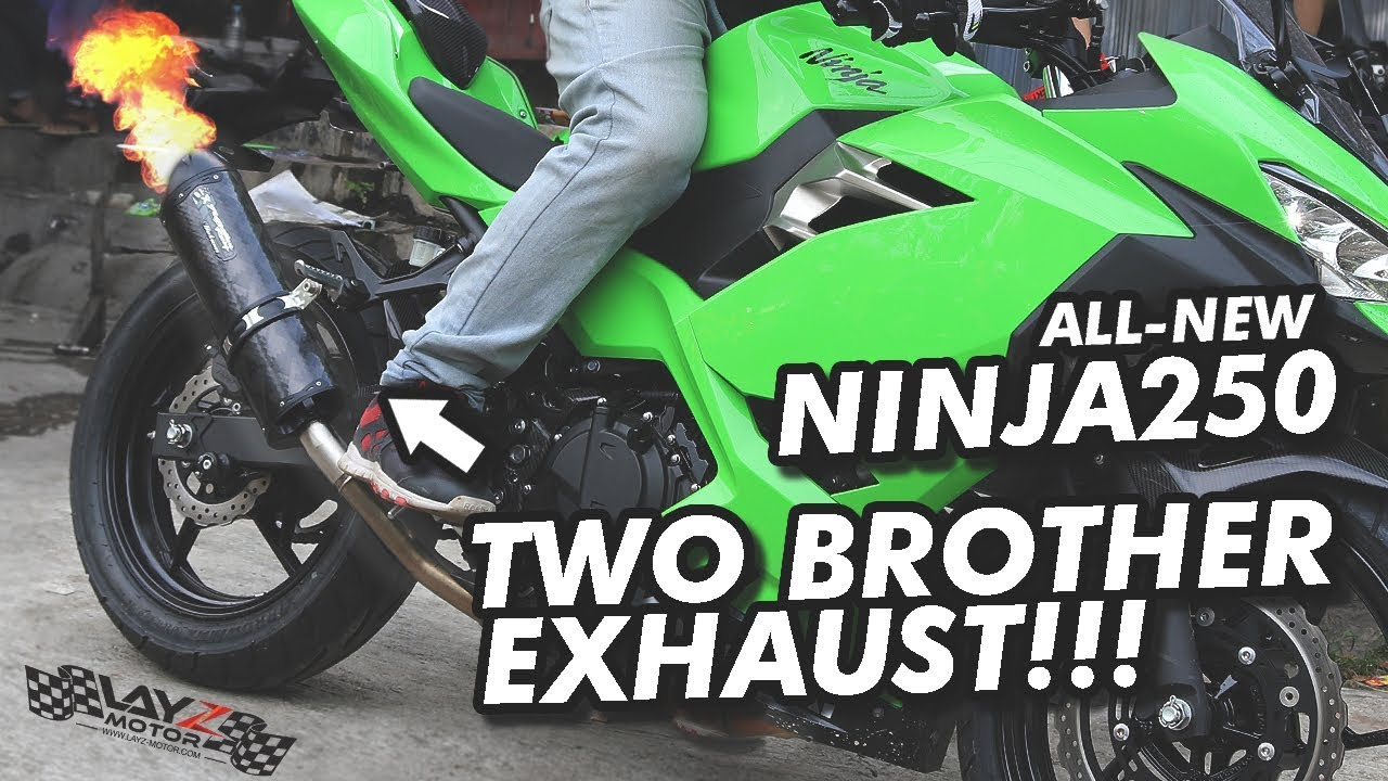Sehari Ganti Knalpot 2x New Ninja 2018 Yoshimura R77 Two Brothers Review