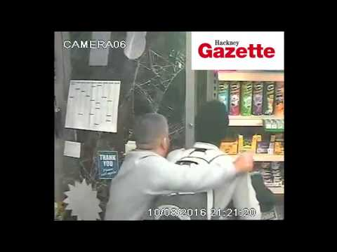 Knife chase horror ends in Hoxton newsagent's