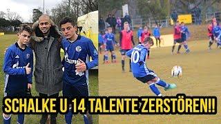 Schalke U14 & Hoffenheim Talente zerstören Fussballspiele!!