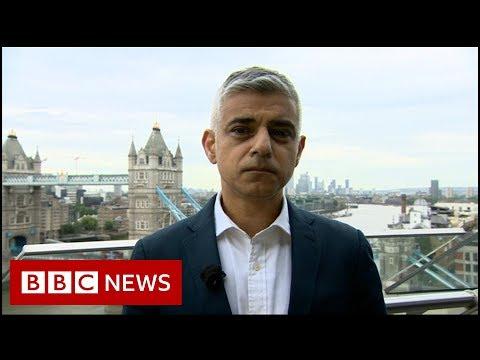 Sadiq Khan: Trump 'poster boy for far right' - BBC News