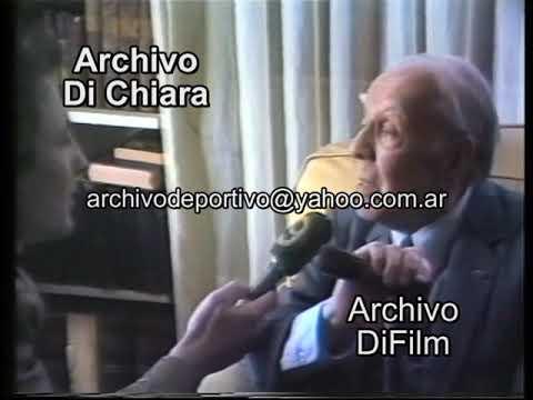 Jorge Luis Borges Habla De Sus Vicios Su Cumpleaños Su Vejez Su Madre Y Ateo 1985 BG-0412 DiFilm