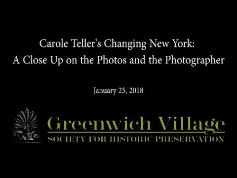 Carole Teller's Changing New York: A Close Up on the Photos and the Photographer