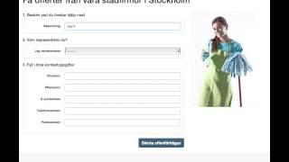 Städning i Stockholm, offerter så som det ska vara!(, 2013-09-12T09:01:04.000Z)
