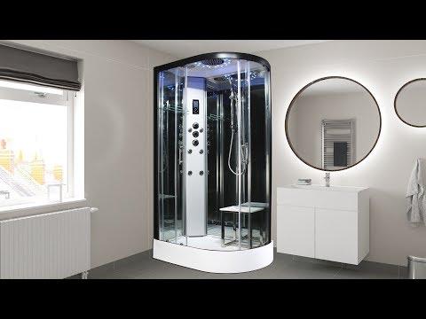 Insignia Platinum Offset Shower Cabin - 2nd Generation Showers