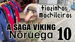 Tiozinhos Mochileiros na ESCANDINÁVIA -10- OSLO Noruega