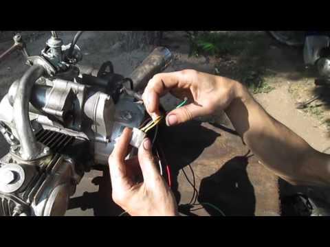 Как завести мотор без мопеда Альфа Дельта Viper Active Мустанг Сабур