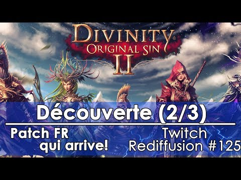 [FR]Divinity: Original Sin 2 - Découverte(2/3)(Twitch - Redif #125)