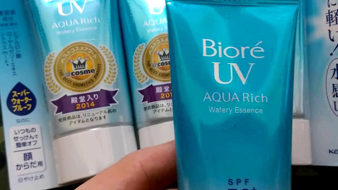 Kem Chống Nắng |  Bioré UV Aqua Rich Watery Essence