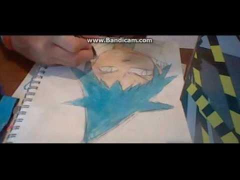 Manga Black Star from Soul Eater Speed Art