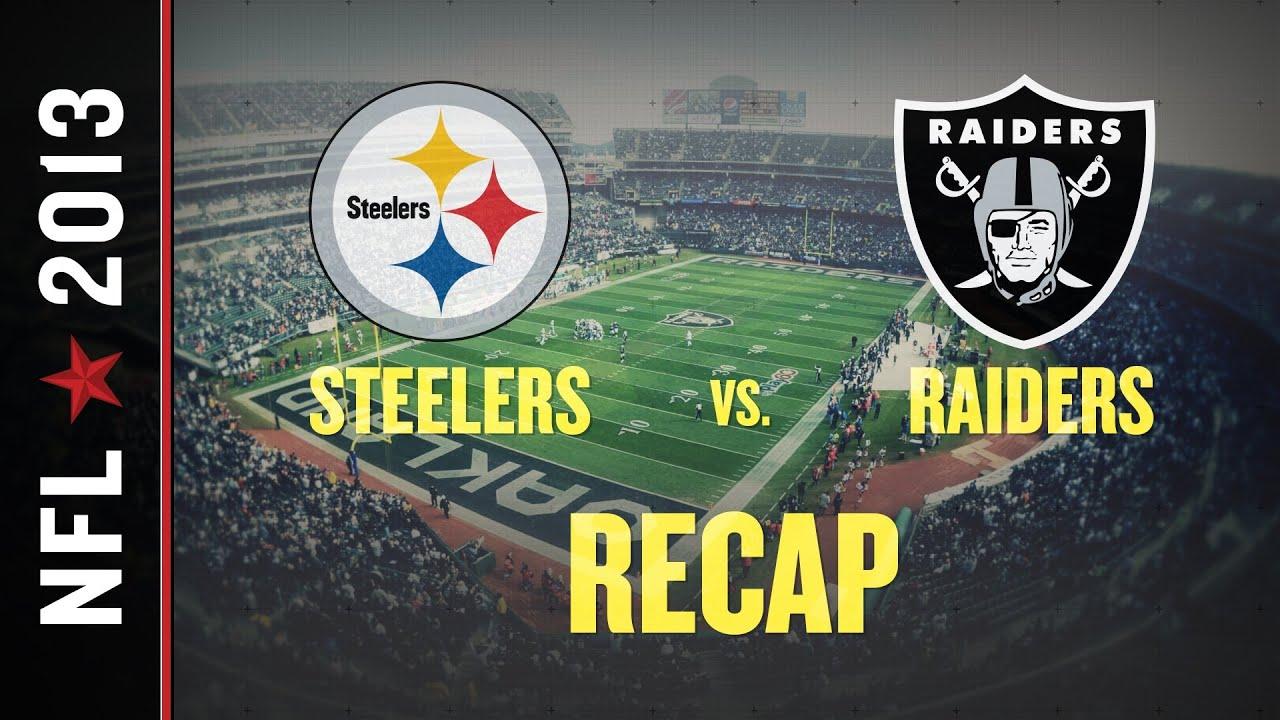 Steelers vs raiders 2013 nfl week 8 terrelle pryor runs oakland steelers vs raiders 2013 nfl week 8 terrelle pryor runs oakland to victory youtube voltagebd Images
