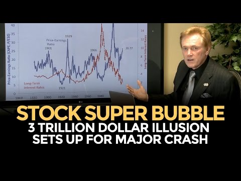Stock Super Bubble Setting Up For Crash – Mike Maloney