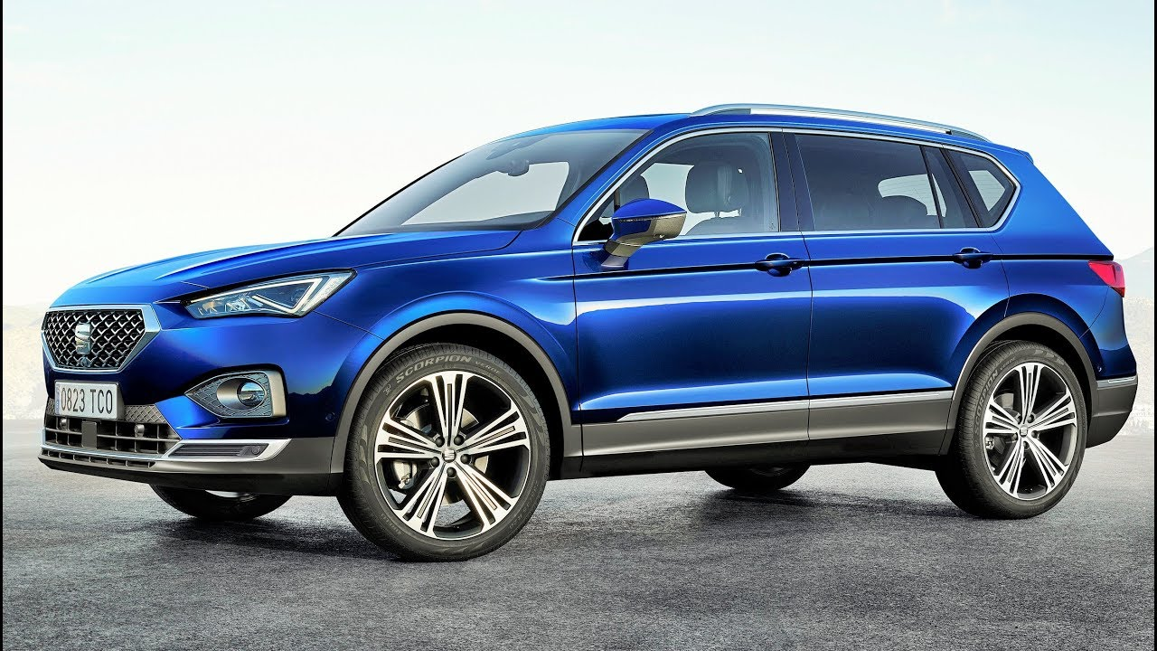 2019 blue seat tarraco elegant family suv youtube. Black Bedroom Furniture Sets. Home Design Ideas