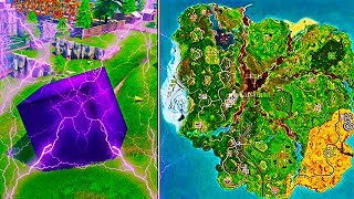 "Epic Games ""LEAKED"" New Season 6 Emplacements! NOUVELLE CARTE DE LA SAISON 6 DE FORTNITE! LA CARTE DE LA SAISON 6 DE FORTNITE A FUITÉ"