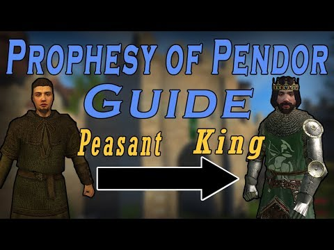 Prophesy of Pendor 3.9.4 Full Guide - From Peasant To King