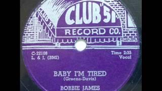 BOBBIE JAMES - BABY I