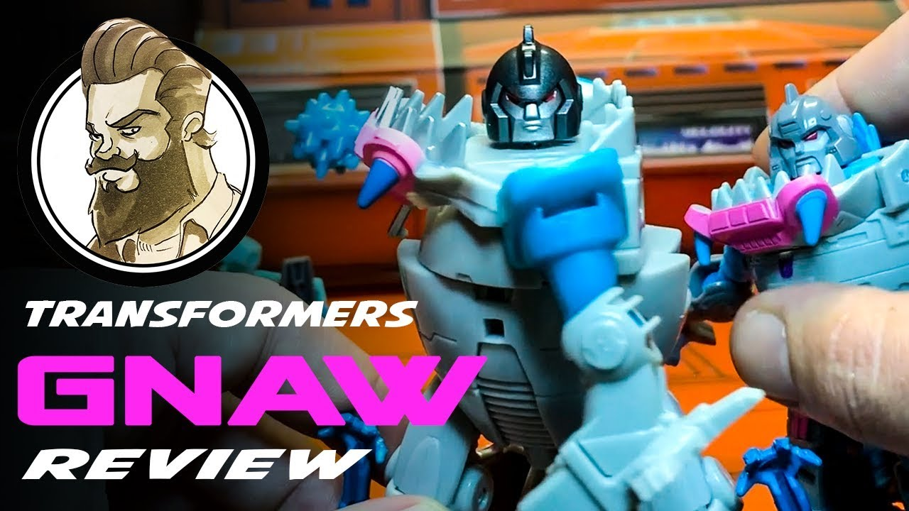 REVIEW - Cyberverse Mace Mash Gnaw
