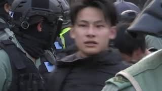 港人集会声援维吾尔人 警察干预酿严重警民冲突