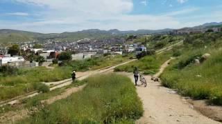 Un pequeño ferrocarril  (Tijuana)
