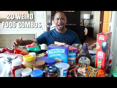 The Randy, Jamie and Jojo Show  - Weird Food Combinations Some People Love