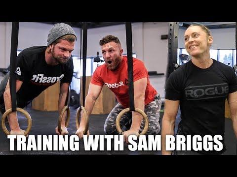 CrossFit Open Training With Sam Briggs