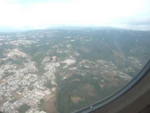 Departing from La Aurora International Airport