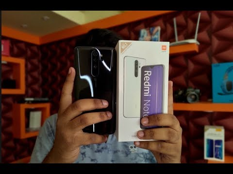 Redmi Note 8 Pro Unboxing (First Amazon Sale Unit)😍😍😍