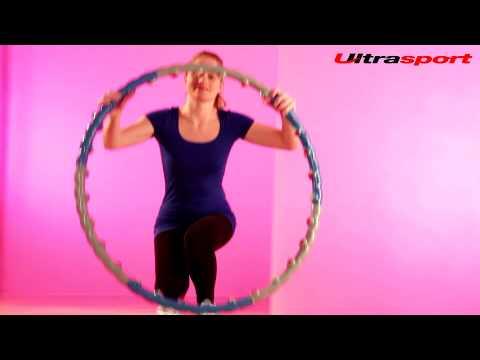 ultrasport massage hula hoop reifen ring youtube. Black Bedroom Furniture Sets. Home Design Ideas