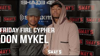 """Friday Fire Cypher: Don Mykel Breaks Down """"Free My Soul"""" + Rips His Live Freestyle 