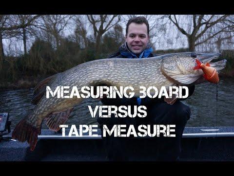 PREDATOR Fishing: Measuring Board vs Tape Measure (English SUBS)
