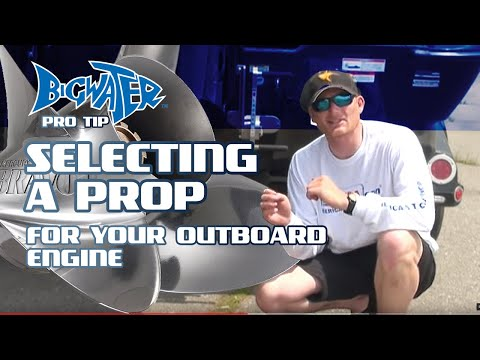 how to change outboard prop