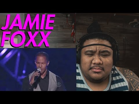 Jamie Foxx - You Look So Good in Love by George Strait [MUSIC REACTION]
