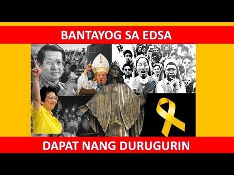 Bantayog sa Edsa Dapat Nang DURUGIN || Clip from July 20, 2019 discussion