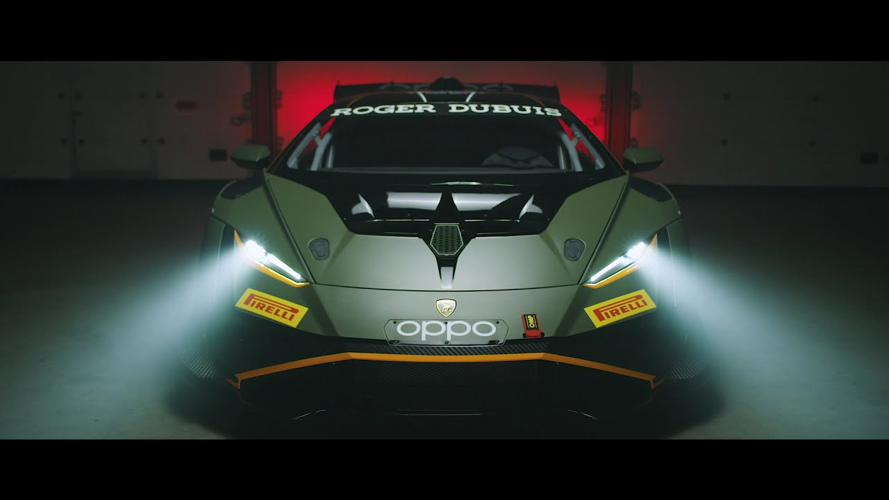 Lamborghini Huracán Super Trofeo EVO2: racing in style