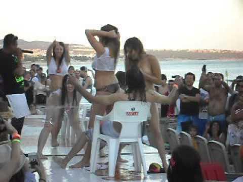 Wet tee contest cancun shirt