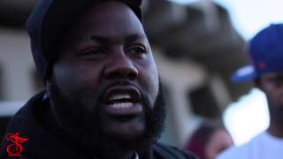 Mistah FAB spits crazy Freestyle in Battle Rap cypher