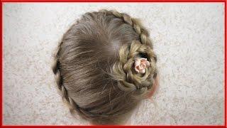 видео Причёски для девочек в садик за 5 минут