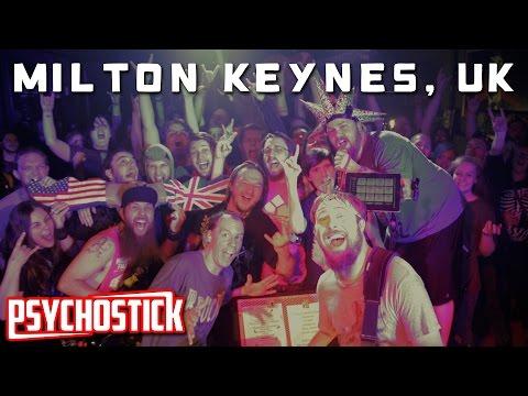 Psychostick in Milton Keynes @ The Craufurd Arms - UK Tour Blog 2