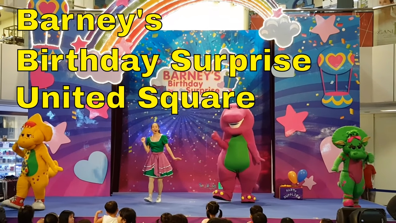 Barney's Birthday Surprise @ United Square Singapore